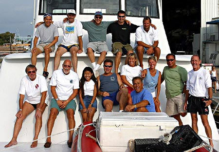 Top Row: Eric, Sandy, Dave, Todd, Mike Bottom Row: Steve, John, Murni, Andy, Ronda, Anna, Paul, Jim Bottom: Jimmy
