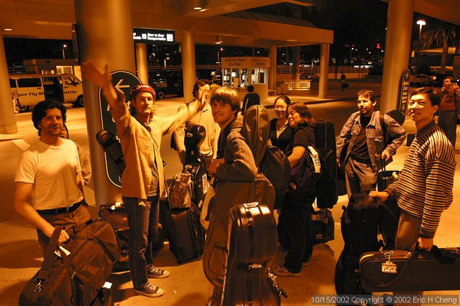 The strings arrive in Orange County!