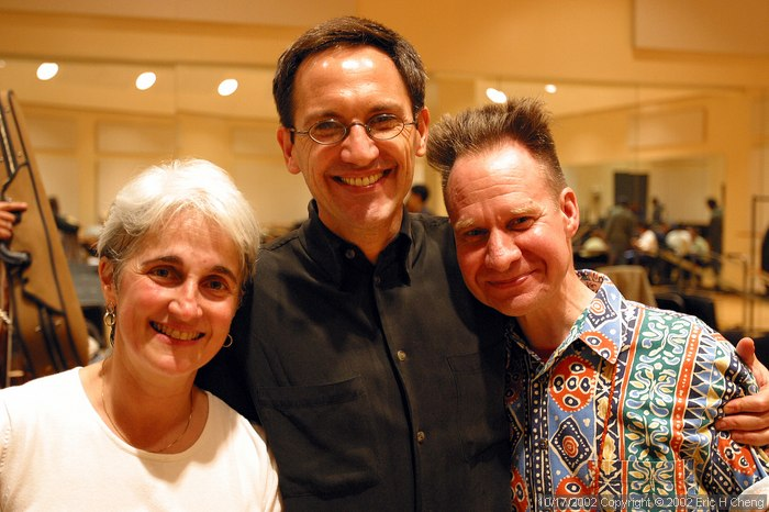 Maria Guinand, Osvaldo Golijov, and Peter Sellars