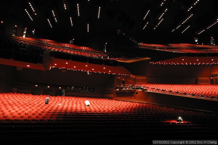 Segerstrom Hall, at the Orange County Performing Arts Center