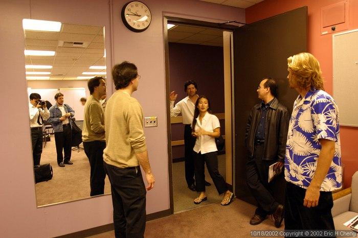 Alberto, Livia, Barry, Ed, and Geoff