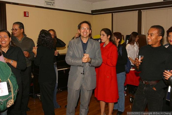 Osvaldo, at the reception
