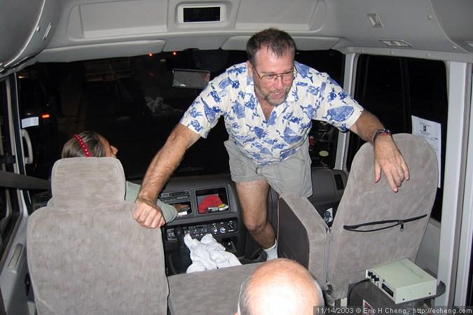 Ken Weemhoff, Bus Master