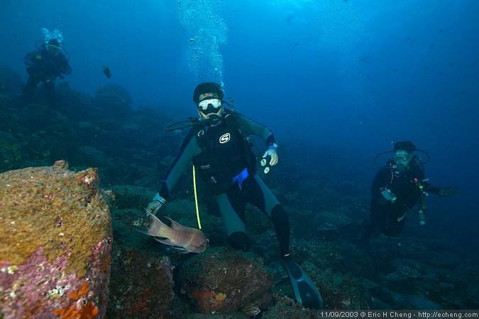 Juan Carlos, foggy dive master extraordinaire (Wolf)