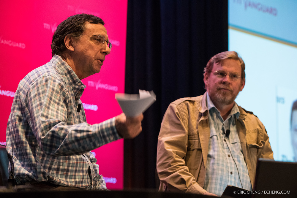 Discussion between John Markoff and Michael Hawley.