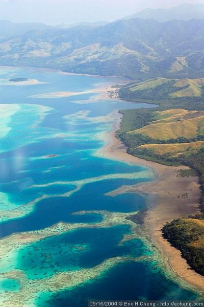 Flight from Taveuni to Nadi