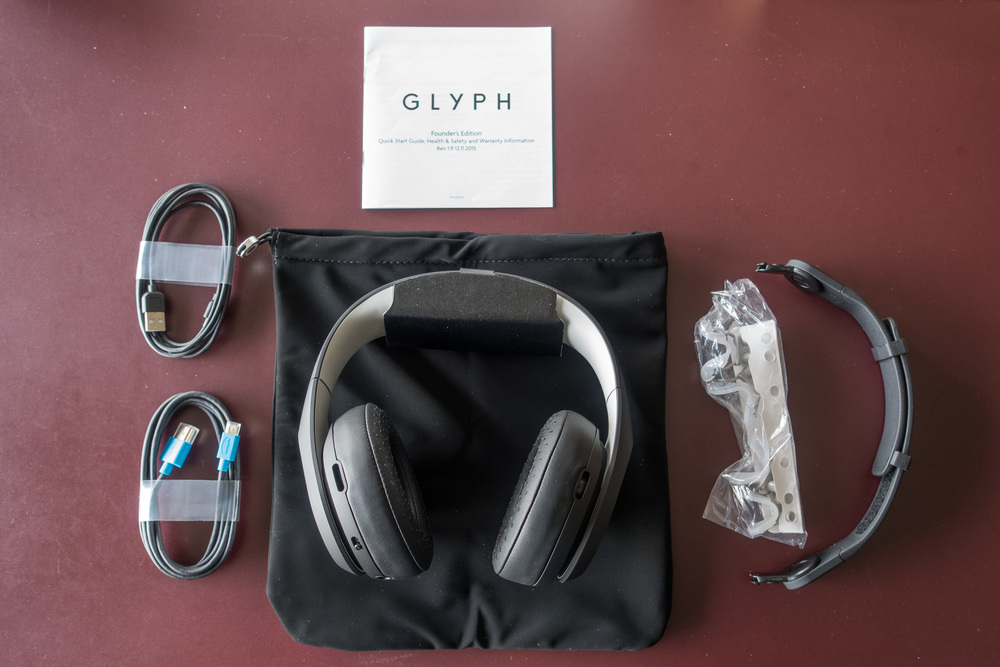 What's in the box: Avegant Glyph Founder's Edition