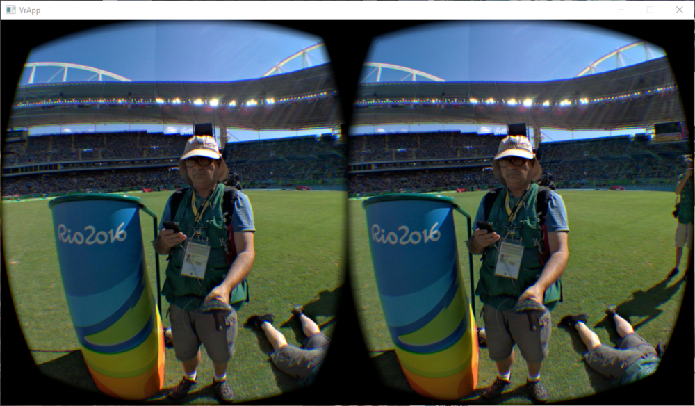 One of the most-prolific Getty 360 photographers at the Rio 2016 Olympics