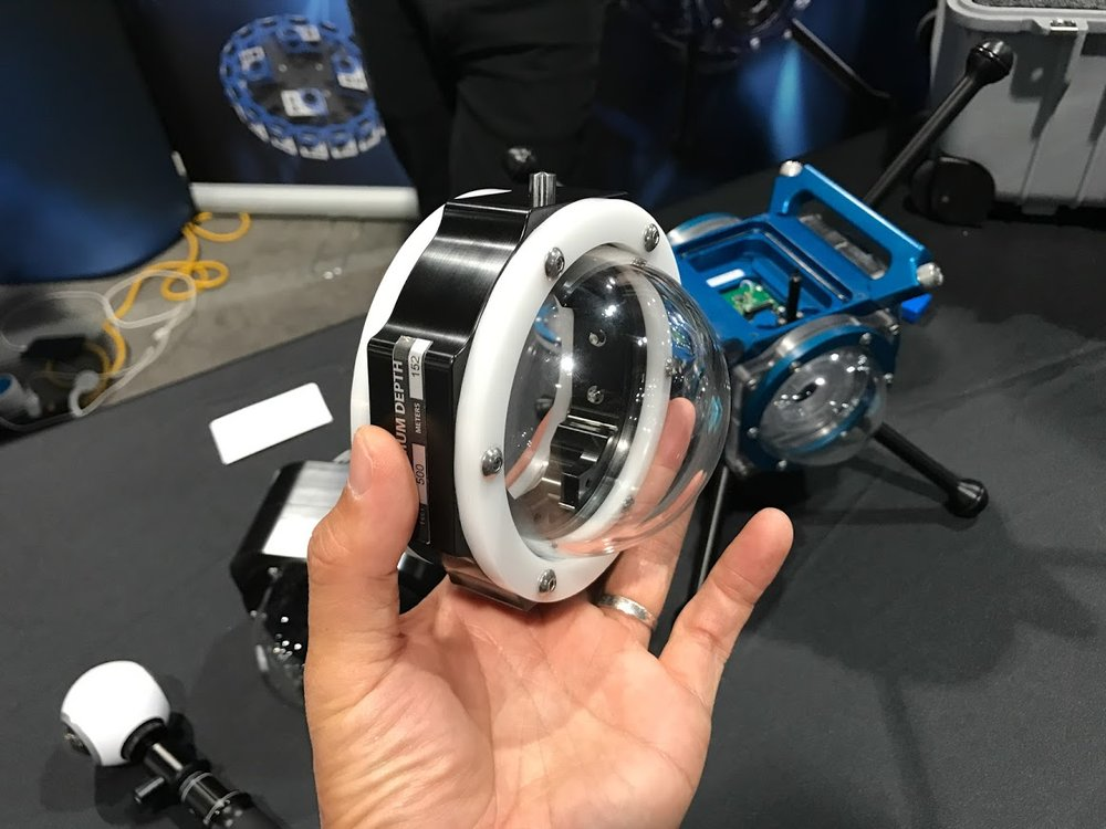 360RIZE housing for Samsung Gear 360