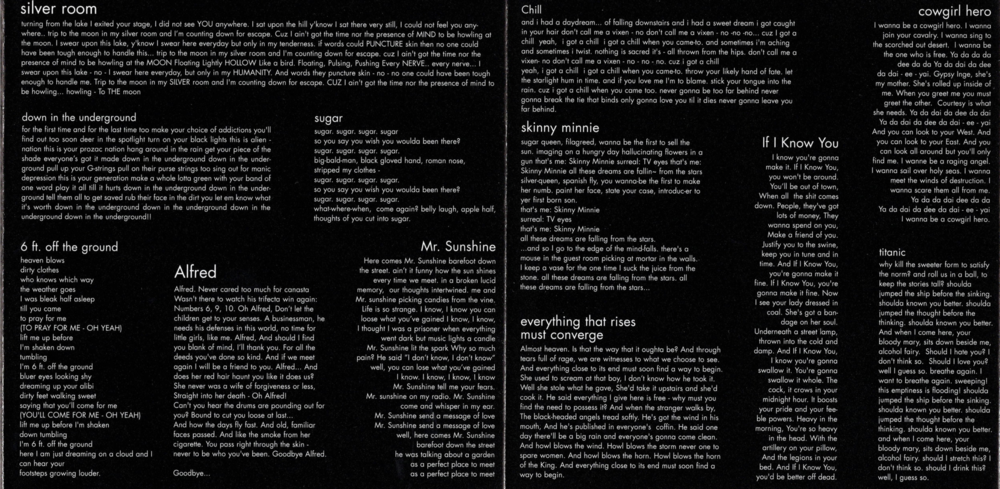 Rapt album lyrics