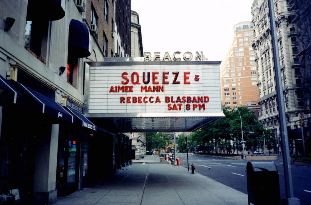 Opening for Squeeze at the Beacon Theatre