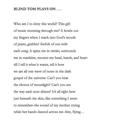Blog The Ballad Of Blind Tom