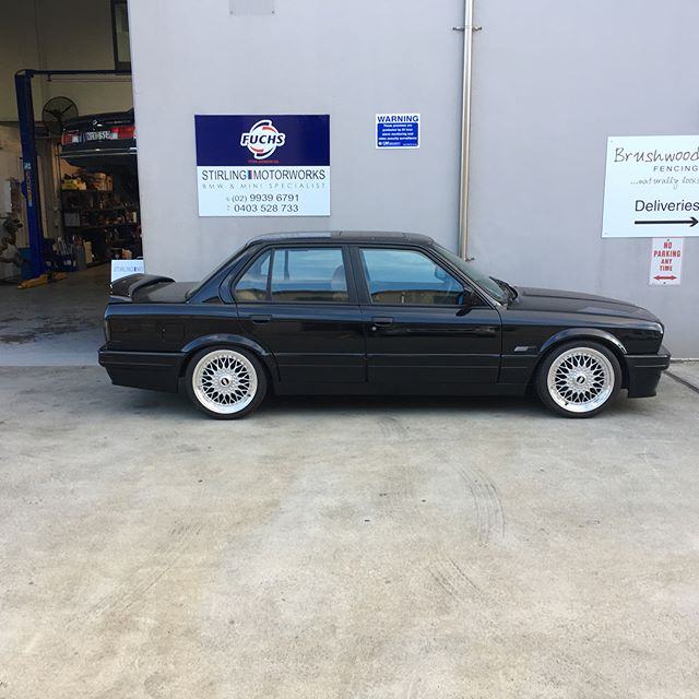 Very clean #Bmw #e30 in for a few minor repairs @stirling.motorworks
