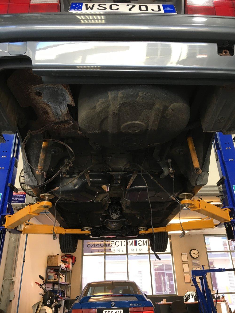 E30 rear subframe bush replacement