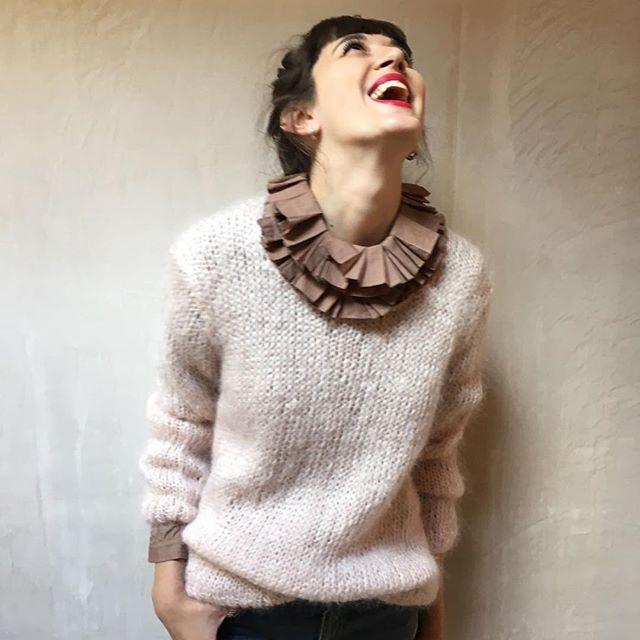 @margarethowellltd ruffle neck blouse @mesdemoisellesparis jumper. 💟💟