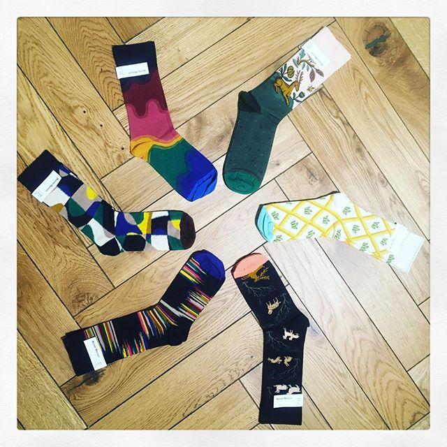 Selection of @bonnemaisonfr socks to cheer up those feet. 👌🏻 #socks  #tufnellpark #bonnemaison @diverselondon