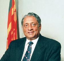 The late Hon. Lakshman Kadirgamar