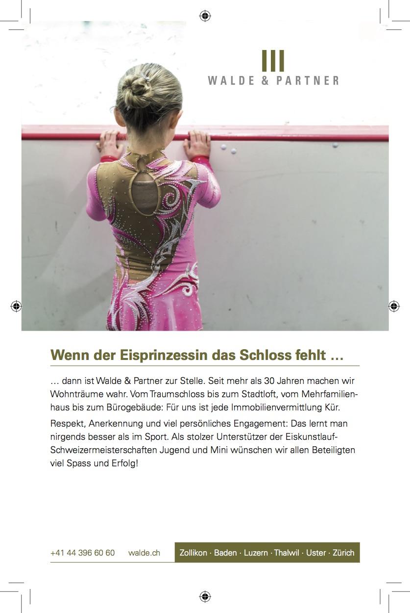 Sponsoring Inserate, Walde & Partner — Text & Bild