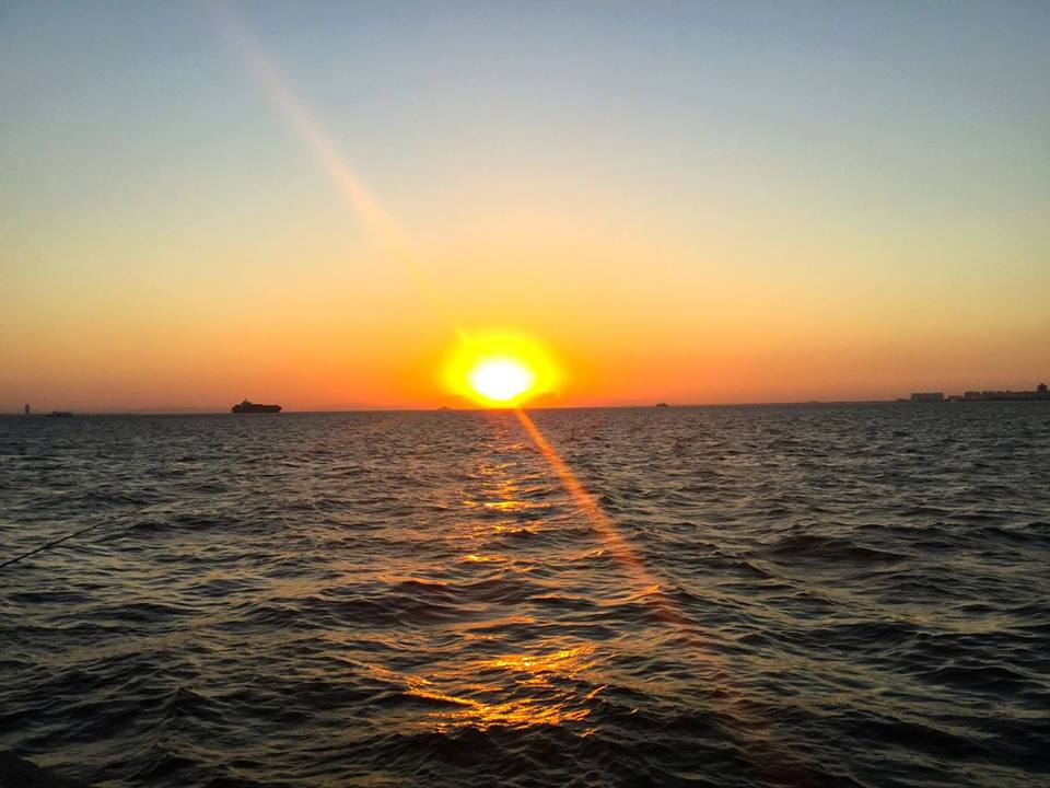 Izmir sunset-wheretheresawheel