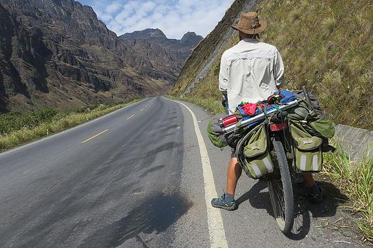 Yungas Pass into LA Paz