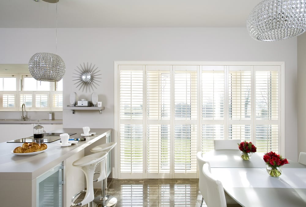 Want A Great Covering For Your French Door, But Donu0027t Want To Use Window  Blinds? Shutters Are The Ideal Designersu0027 Choice. An Entire Glass Area Can  Be ...