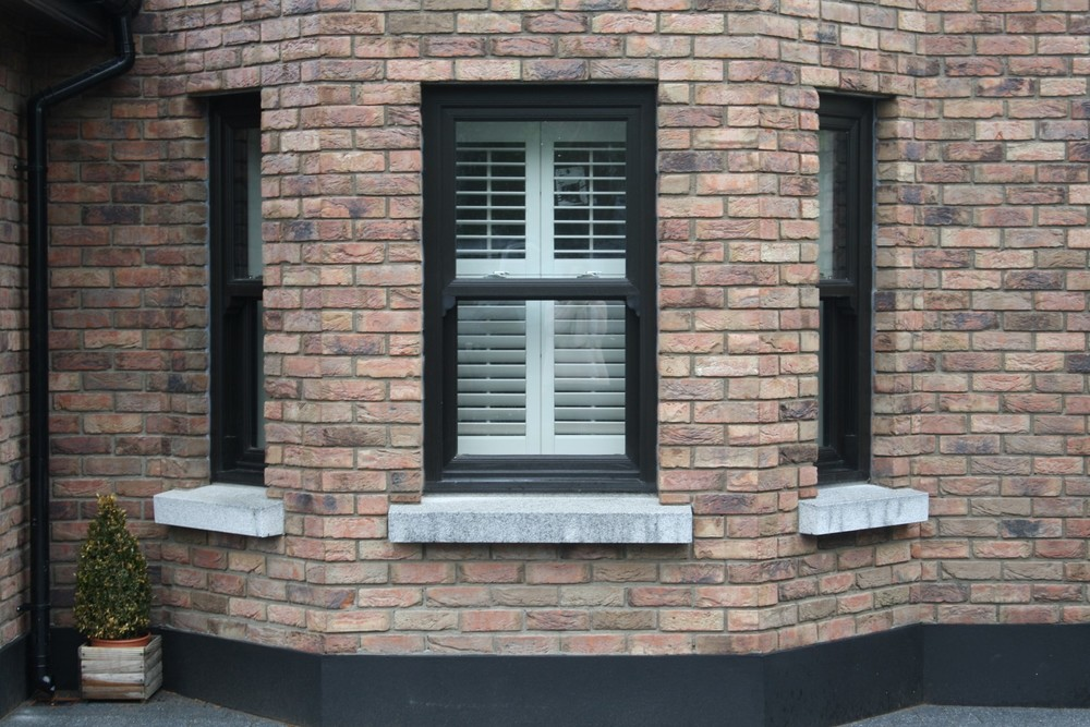 Exterior Views Shutterco Plantation Style Window Shutters