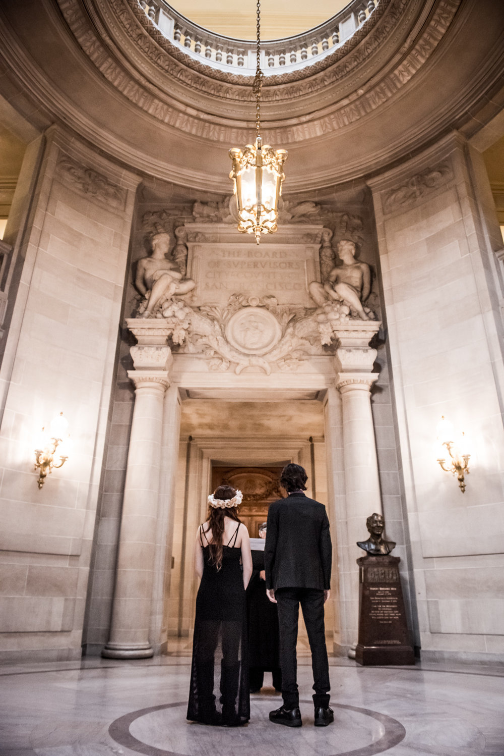 City hall wedding photography San Francisco