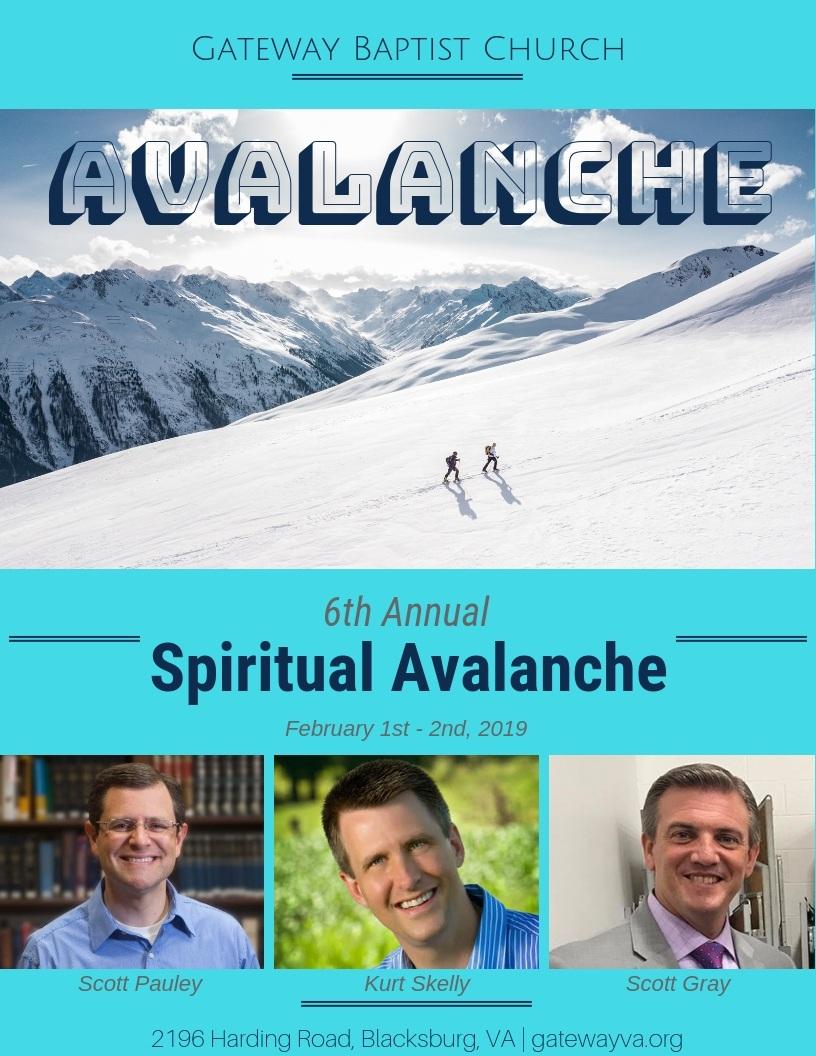 Spiritual Avalanche 2019 A