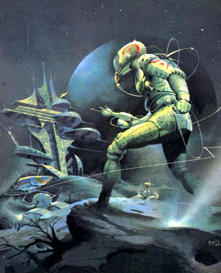 Vintage Sci Fi Art Added A New Photo: Peter Andrew Jones