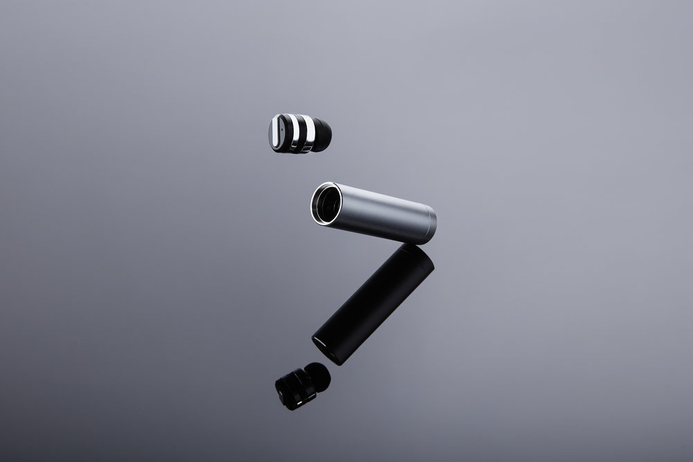 Bullet Bluetooth 4.1 Earpiece + Charging Capsule