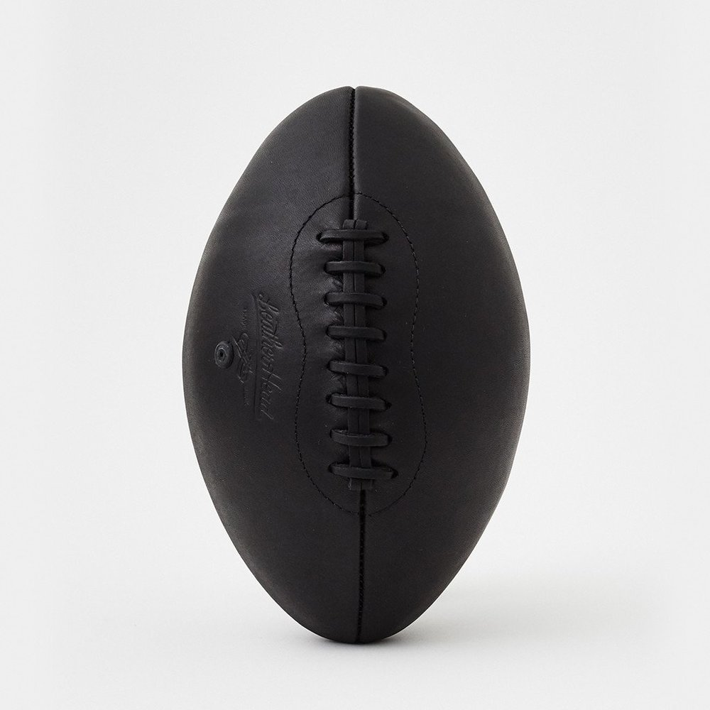 Leather Head Black Onyx Football