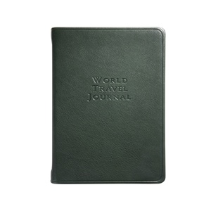 World Travel Journal Traditional Leather
