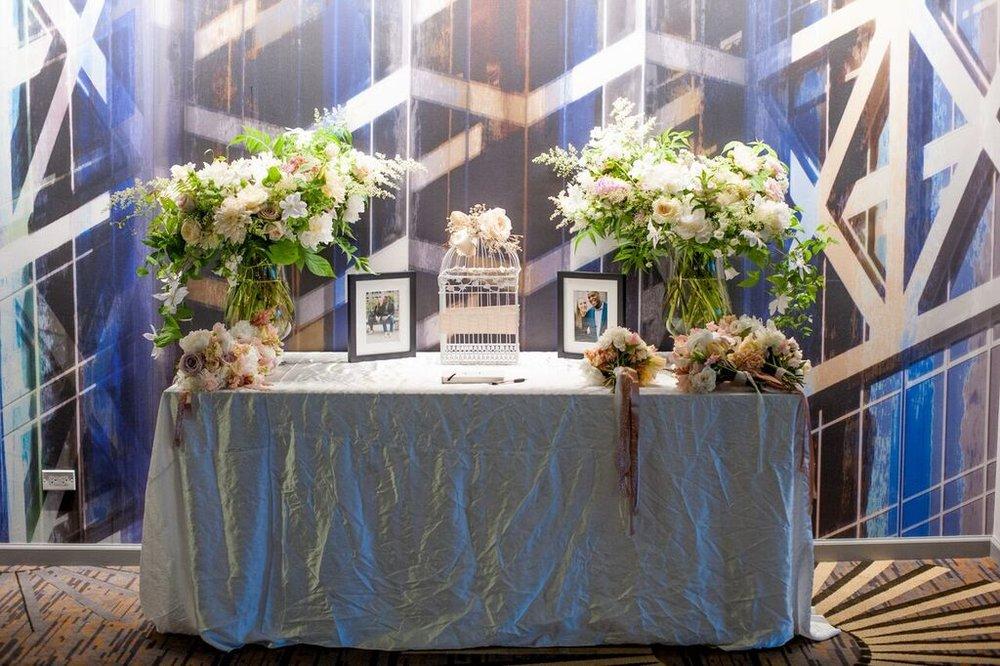 Becca Blue Flowers    Amanda Nippoldt Photography