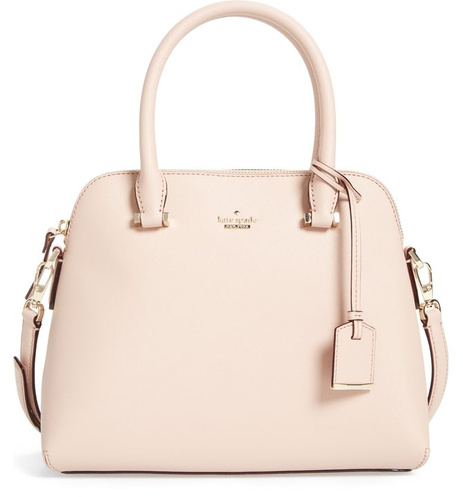 Kate Spade Cameron Street Maise Leather Satchel