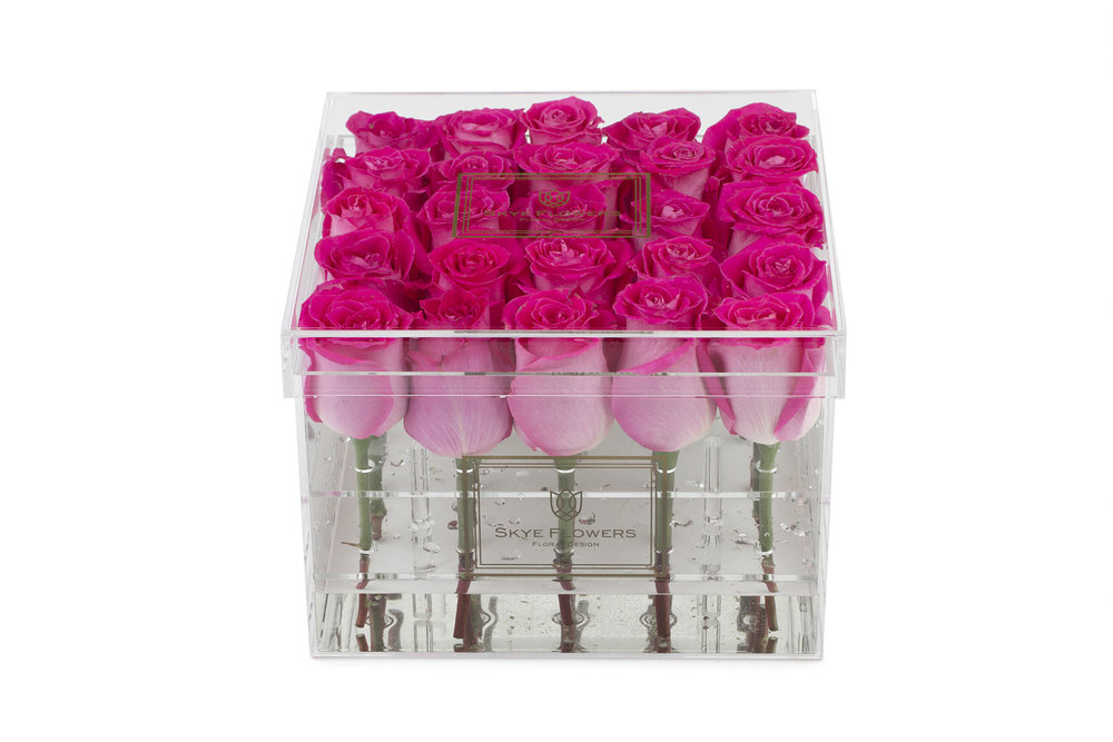 Signature Flower Box -Hot Pink -