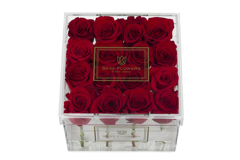 Signature Flower Box - Red -
