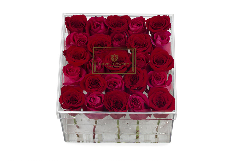 Signature Flower Box - Sugar and Spice -