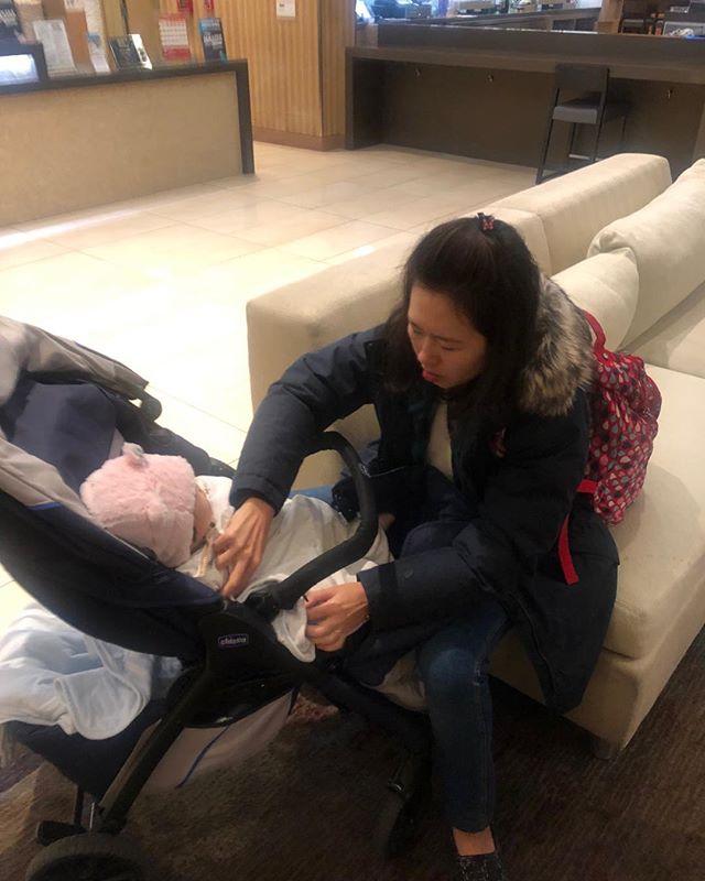 Taiwan mom terrified of the frigid California nights.