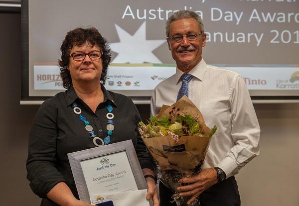Last year's winner - Peta Mott