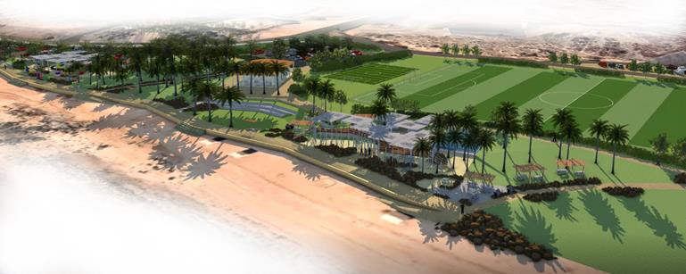 The Dampier Palms and Hampton Oval redevelopment is set to break ground in May.