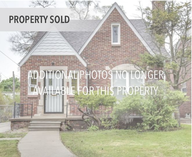 19378 Woodingham, Detroit MI   Bagley Neighborhood   3 bedrooms, 1.5 bathrooms, 1,504 SqFt Turn key real estate investment property  NET ROI: 11.97%  Details & photos no longer available.