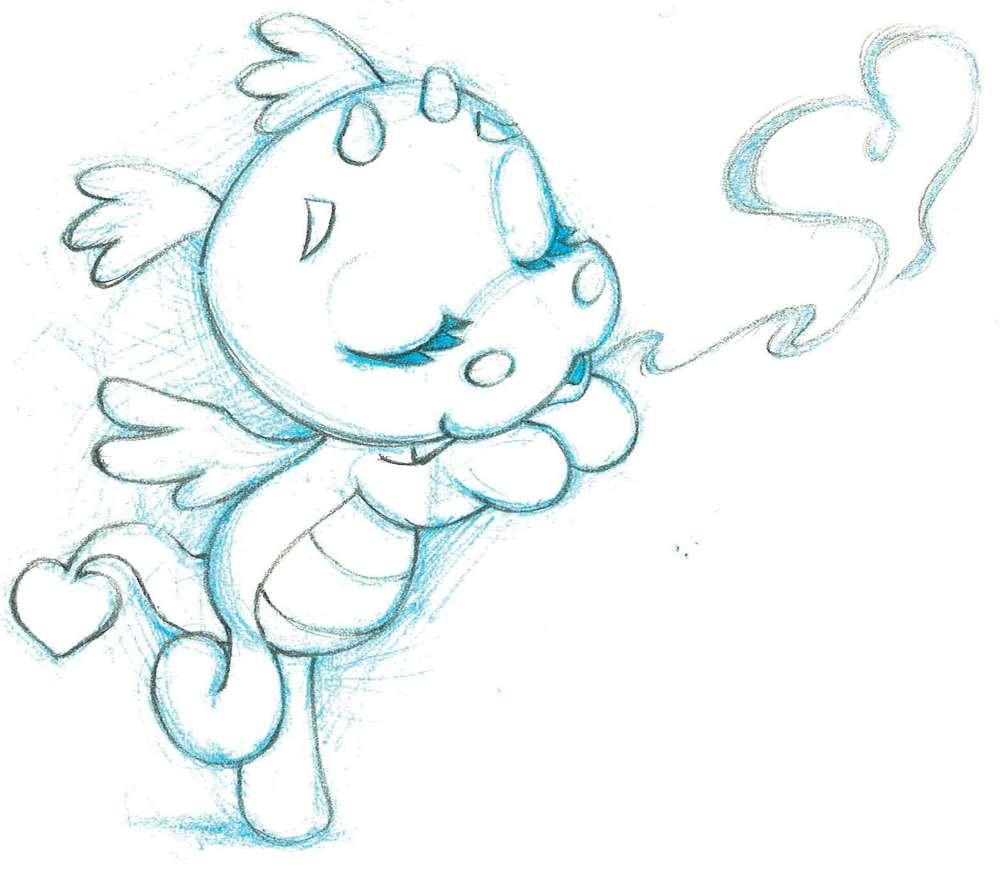 'Georgina' the dragon - click to enlarge