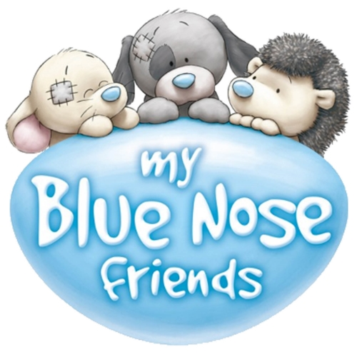 Blue Nose Friends plush toy design