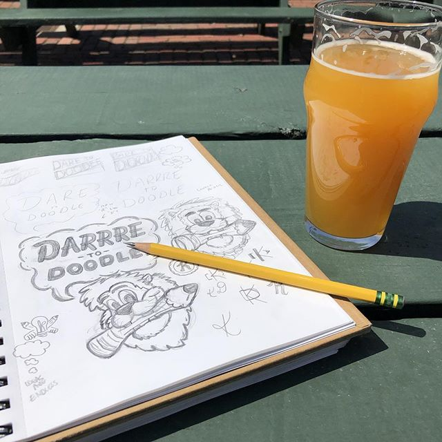 Research for Wednesday's Kalamadoodle event at @bellseccentriccafe! We won't be outside due to expected weather conditions, but we are hopeful this Mango Habanero Oberon will still be on tap!