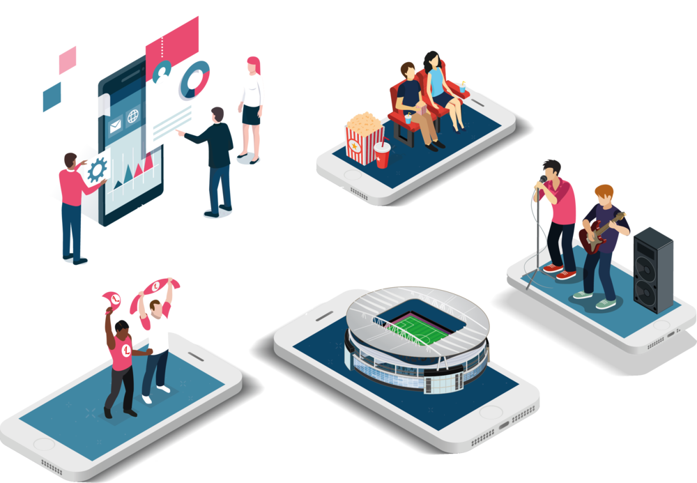 Digital ticket distribution FOR EVENT CREATORS - Tixserve enables creators of live entertainment events to gain business and financial benefits from next-generation digital tickets. You sell, we deliver!
