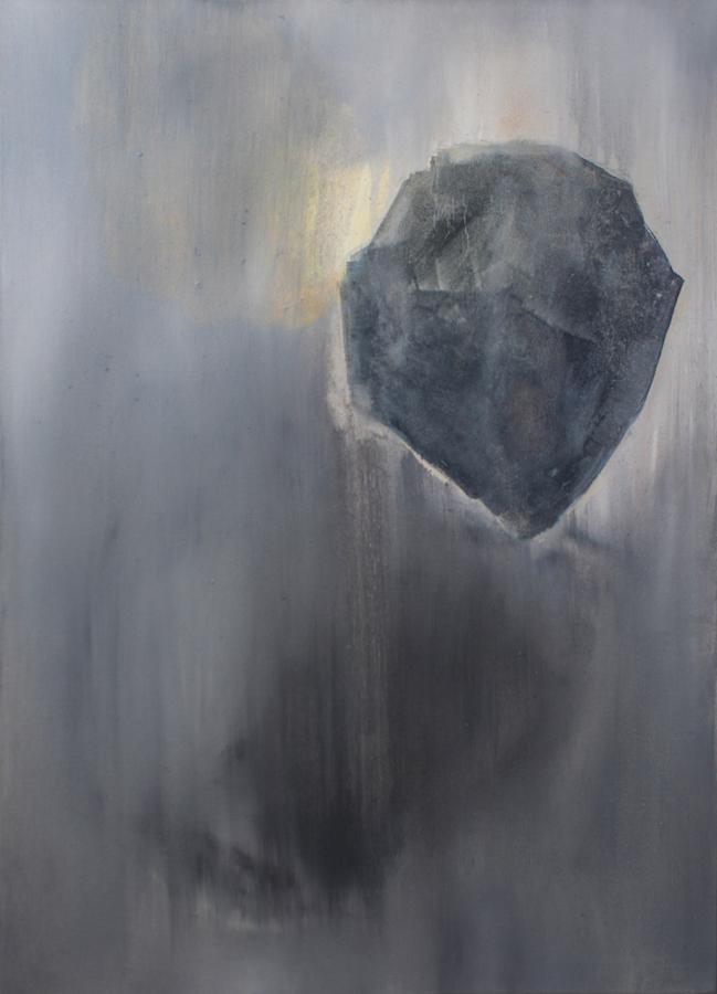 Bleeding Stone (vi) 2015 Oil on Canvas 40 x 59.5 cm