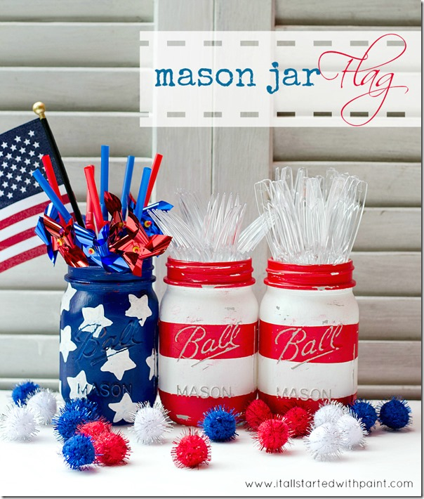 mason-jar-flags-red-white-blue-painted