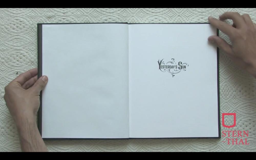 Artist Book: Uri Gershuni, Yesterday's Sun