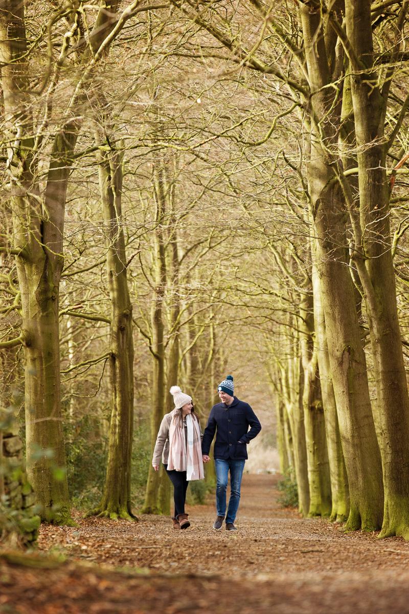 Sarah & Joe having a stroll