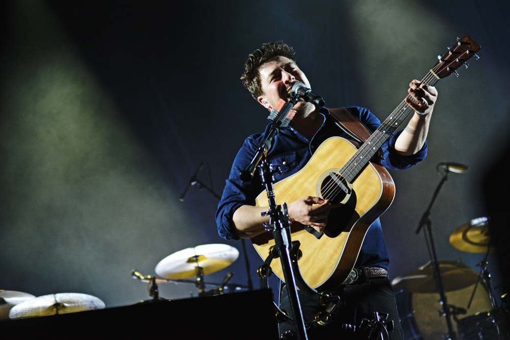 "Mumford & Sons during the ""Gentlemen Of The Road"" tour in Cape Town, South Africa"